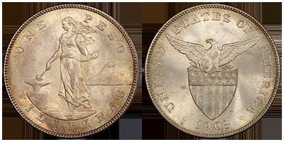 1903 S Peso Regular Strike